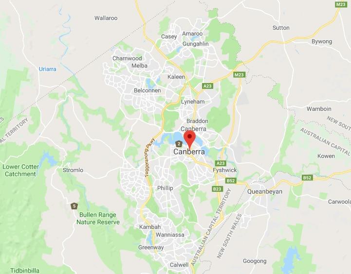 Chisholm Central Map